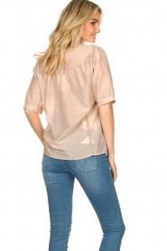 Dante 6 | Katoenen blouse Birken | nude   | Afbeelding 6