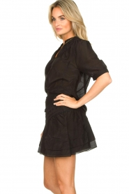 Dante 6 |  Cotton blouse Birken  | black  | Picture 6