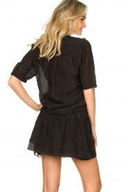 Dante 6 |  Cotton blouse Birken  | black  | Picture 7