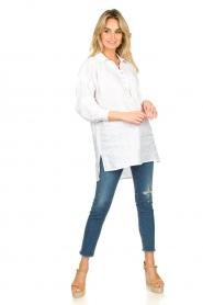 Dante 6 |  Tunic blouse Giada | white  | Picture 3