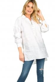 Dante 6 |  Tunic blouse Giada | white  | Picture 4
