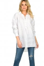 Dante 6 |  Tunic blouse Giada | white  | Picture 2