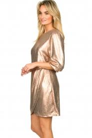 Dante 6 | Metallic jurk Virginie | metallic   | Afbeelding 4
