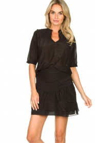 Dante 6 |  Skirt with pompom details Loubi | black  | Picture 2