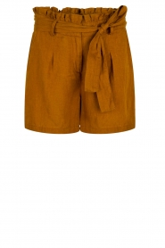 Dante 6 |  Linen shorts Ming | brown  | Picture 1