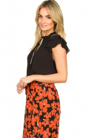 Dante 6 |  Blouse with embroidered details Bridger | black  | Picture 4