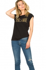 Dante 6 |  T-shirt with text Lovemetee | black  | Picture 4