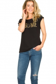 Dante 6 |  T-shirt with text Lovemetee | black  | Picture 2