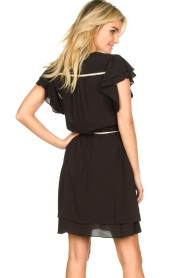 Dante 6 |  Dress with belt | black  | Picture 5