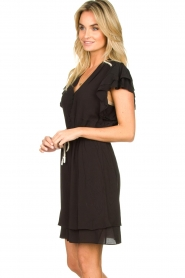 Dante 6 |  Dress with belt | black  | Picture 4