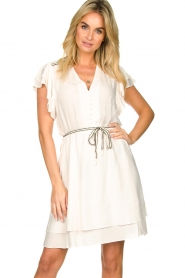 Dante 6 |  Dress with belt | natural   | Picture 2
