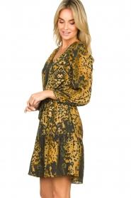 Dante 6 |  Leopard dress Kirstyn | green  | Picture 4