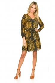 Dante 6 |  Leopard dress Kirstyn | green  | Picture 3