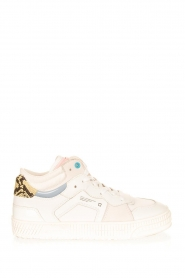 D.A.T.E |  High leather sneakers Nebraska | white  | Picture 1