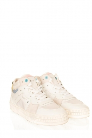 D.A.T.E |  High leather sneakers Nebraska | white  | Picture 3