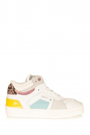 D.A.T.E |  High leather sneakers Nebraska | multi  | Picture 1
