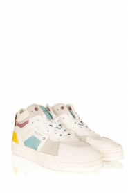 D.A.T.E |  High leather sneakers Nebraska | multi  | Picture 3