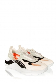 D.A.T.E |  Chunky sneakers Fuga | white  | Picture 3