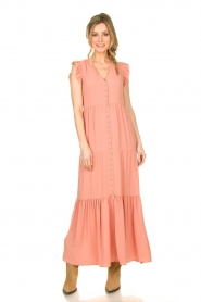 Notes Du Nord |  Maxi dress Orchid | pink  | Picture 2