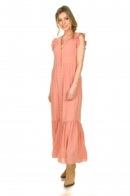 Notes Du Nord |  Maxi dress Orchid | pink  | Picture 3