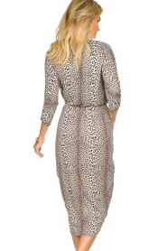Notes Du Nord |  Leopard dress Dallas | animal print  | Picture 5