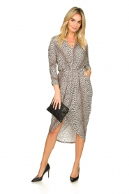 Notes Du Nord |  Leopard dress Dallas | animal print  | Picture 3
