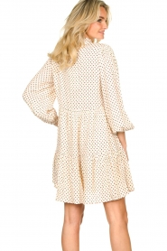 Notes Du Nord |  Floral dress Olivia | white  | Picture 6