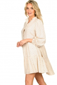 Notes Du Nord |  Floral dress Olivia | white  | Picture 5