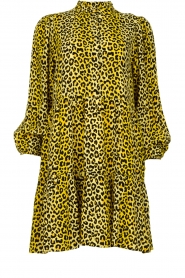 Notes Du Nord |  Panther dress Olivia | yellow  | Picture 1