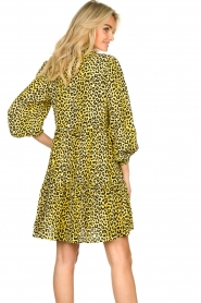 Notes Du Nord |  Panther dress Olivia | yellow  | Picture 7