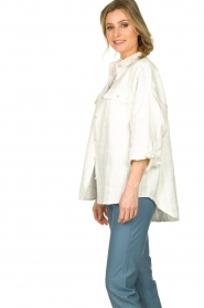 Notes Du Nord |  Blouse jacket Oconner | white  | Picture 4
