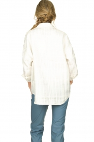 Notes Du Nord |  Blouse jacket Oconner | white  | Picture 5