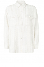 Notes Du Nord |  Blouse jacket Oconner | white  | Picture 1