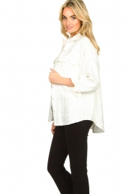 Notes Du Nord | Boucle blouse  Oconner | wit  | Afbeelding 6