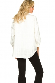Notes Du Nord |  Blouse jacket Oconner | white  | Picture 7