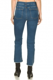 Notes Du Nord |  High waist cropped flare Ohio | blue  | Picture 5