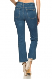 Notes Du Nord |  High waist cropped flare Ohio | blue  | Picture 6