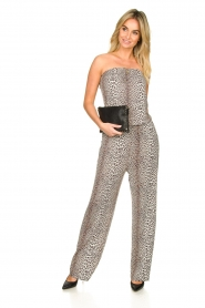 Notes Du Nord |  Leopard jumpsuit Dallas | animal print  | Picture 3