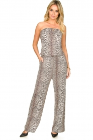 Notes Du Nord |  Leopard jumpsuit Dallas | animal print  | Picture 2