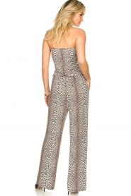 Notes Du Nord |  Leopard jumpsuit Dallas | animal print  | Picture 5