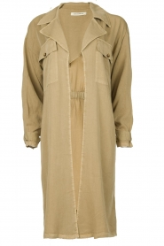 Sofie Schnoor |  Open coat Stine | beige  | Picture 1