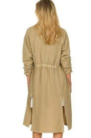 Sofie Schnoor |  Open coat Stine | beige  | Picture 6
