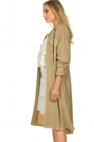 Sofie Schnoor |  Open coat Stine | beige  | Picture 5