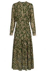 Sofie Schnoor |  Printed maxi dress Abbi | green  | Picture 1