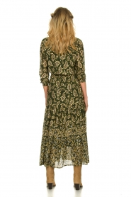Sofie Schnoor |  Printed maxi dress Abbi | green  | Picture 5