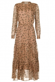 Sofie Schnoor |  Maxi dress with print Abbi | beige  | Picture 1