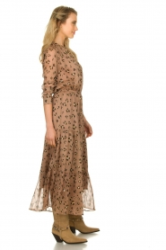 Sofie Schnoor |  Maxi dress with print Abbi | beige  | Picture 4