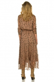 Sofie Schnoor |  Maxi dress with print Abbi | beige  | Picture 5