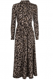 Sofie Schnoor |  Leopard printed maxi dress Lula | animal print  | Picture 1