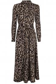 Sofie Schnoor | Maxi jurk met luipaardprint Lula | dierenprint  | Afbeelding 1